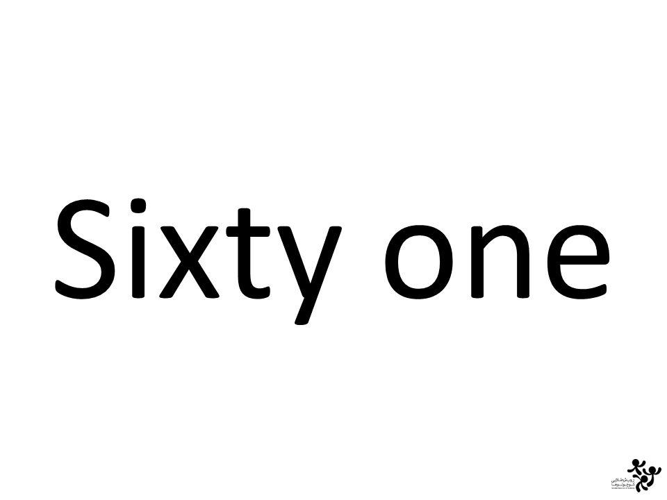 Sixty one