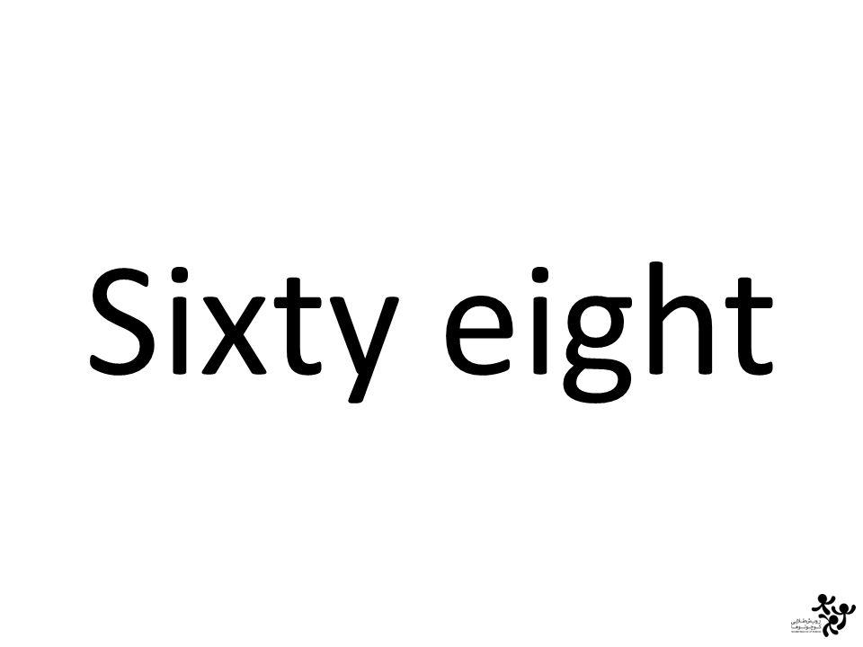 Sixty eight