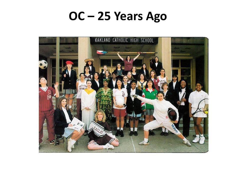 OC – 25 Years Ago