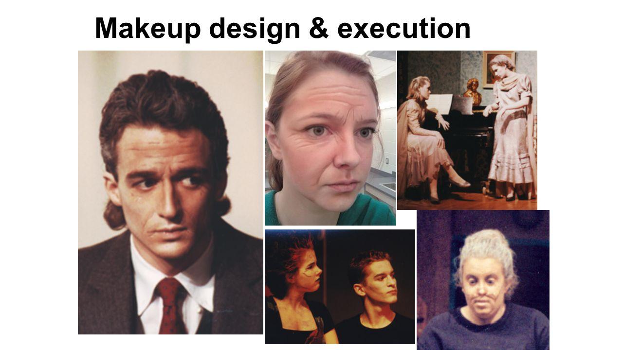Makeup design & execution
