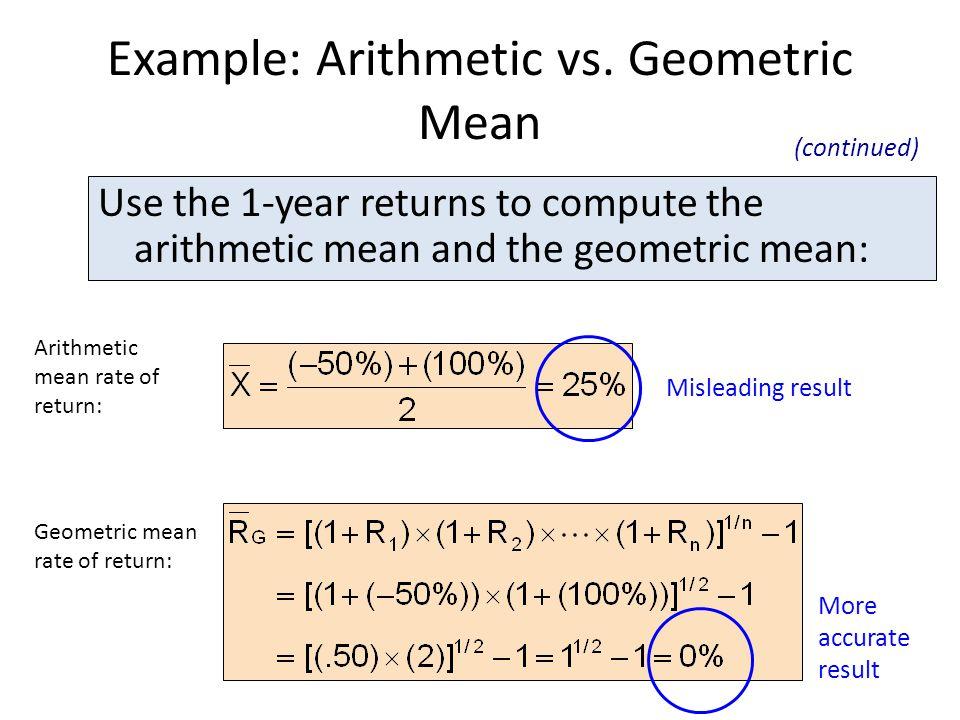 Example: Arithmetic vs.