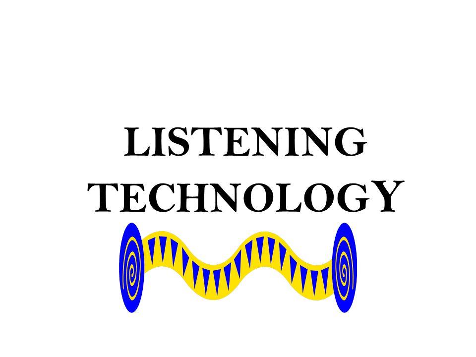 LISTENING TECHNOLOG Y