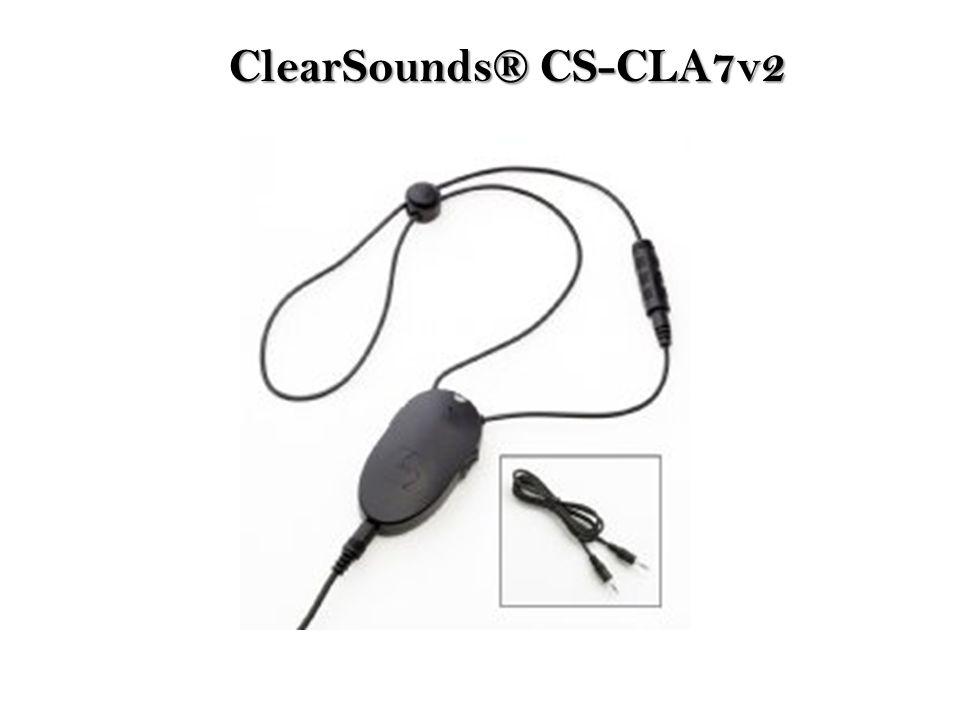ClearSounds® CS-CLA7v2