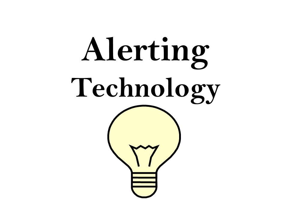 Alerting Technology