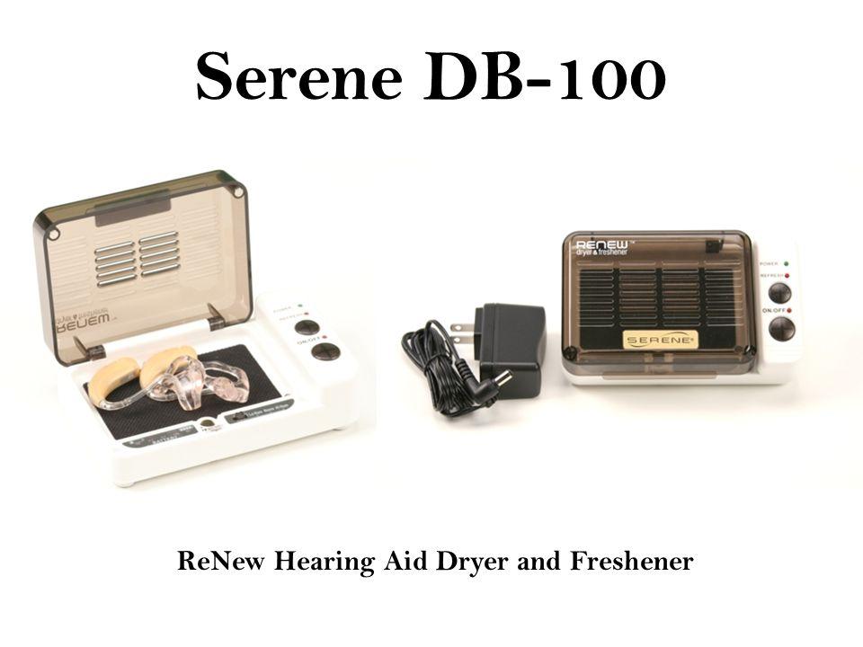 Serene DB-100 ReNew Hearing Aid Dryer and Freshener