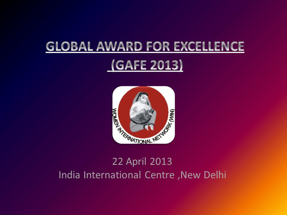 22 April 2013 India International Centre,New Delhi