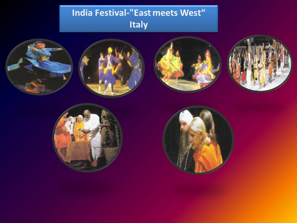 India Festival- East meets West Italy India Festival- East meets West Italy
