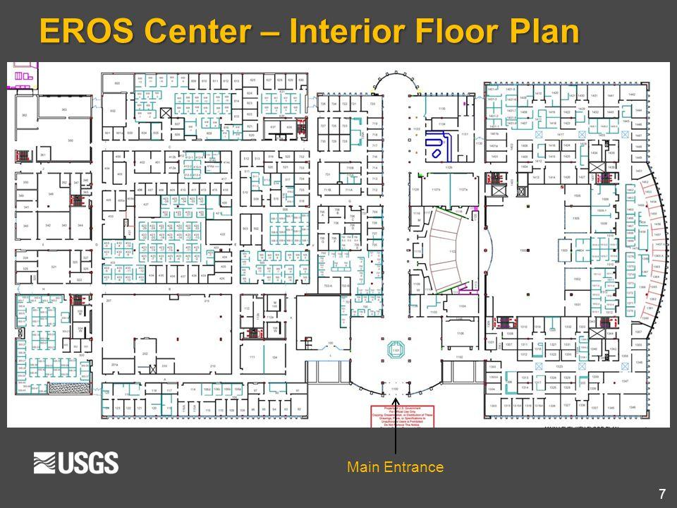 7 Main Entrance EROS Center – Interior Floor Plan