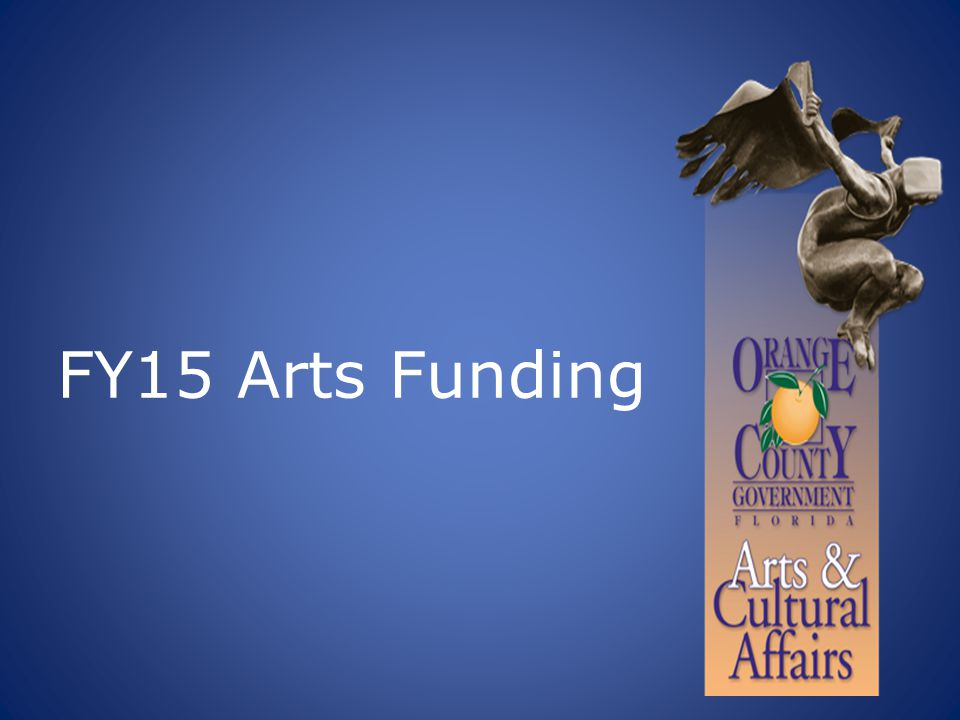 FY15 Arts Funding