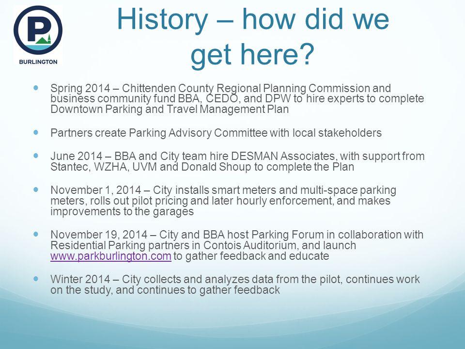 Get your feedback For more information, visit: www.parkburlington.com Email: dcolangelo@burlingtonvt.gov director@bbavt.org