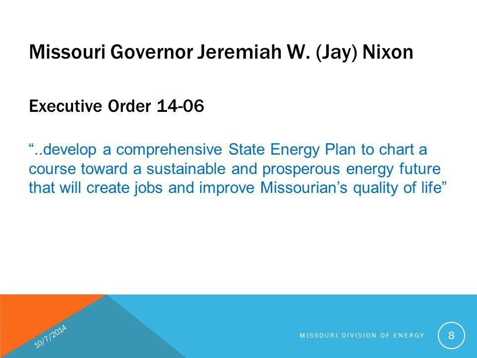 Missouri Governor Jeremiah W.