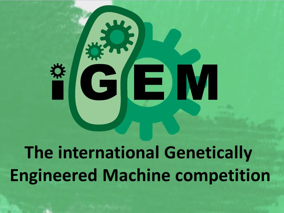 The international Genetically Engineered Machine competition