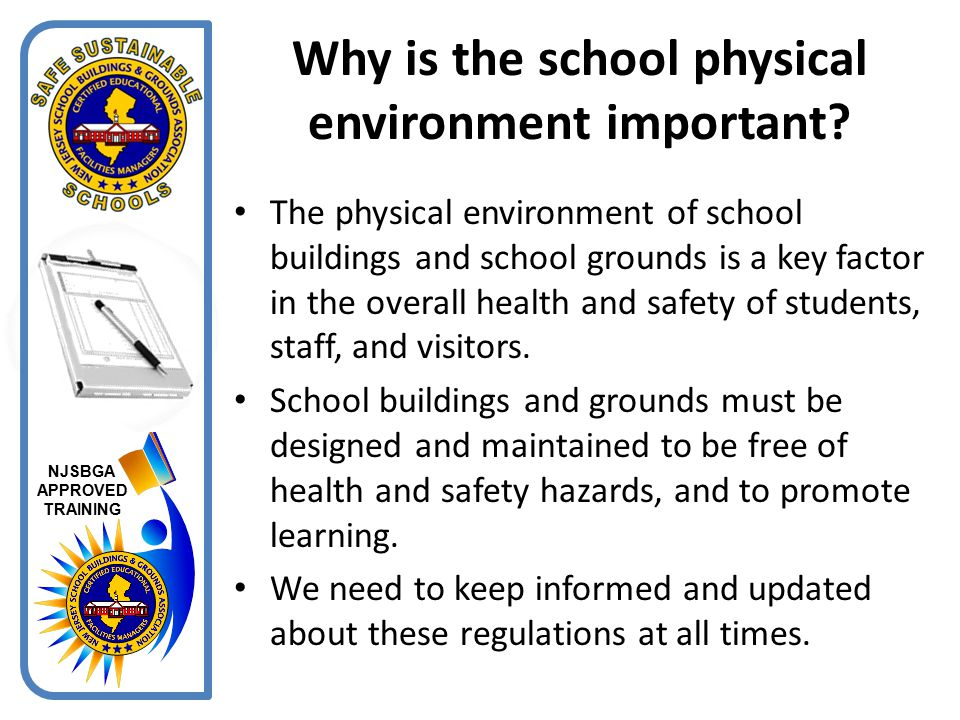 NJSBGA APPROVED TRAINING The GHS does not address training.