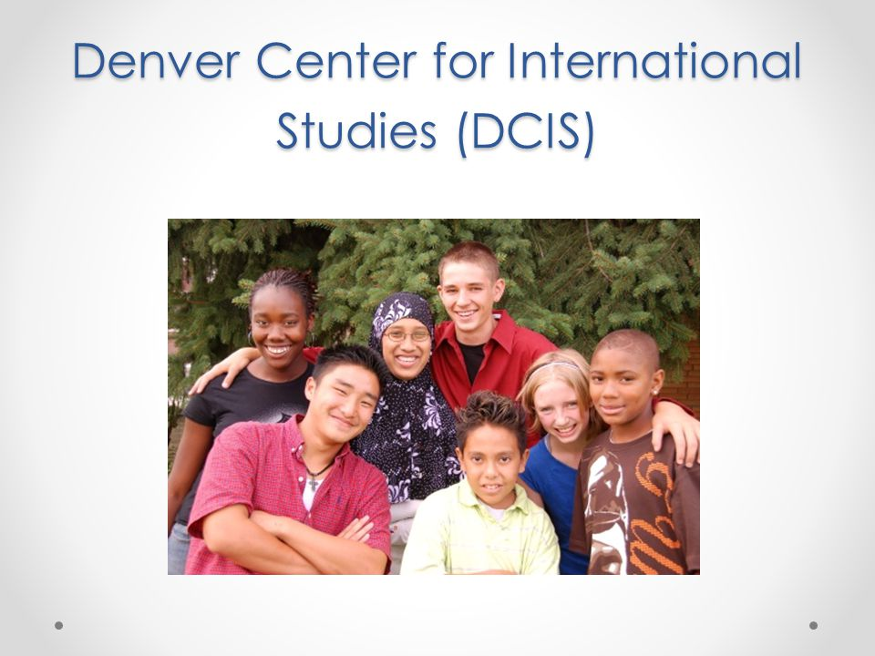 Denver Center for International Studies (DCIS)