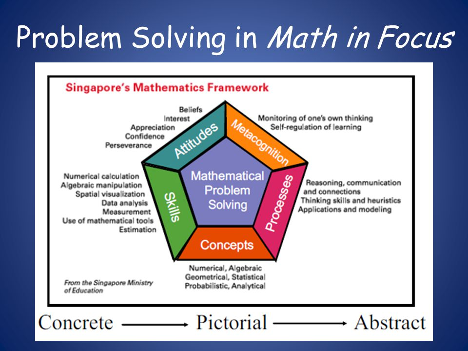 Problem Solving in Math in Focus
