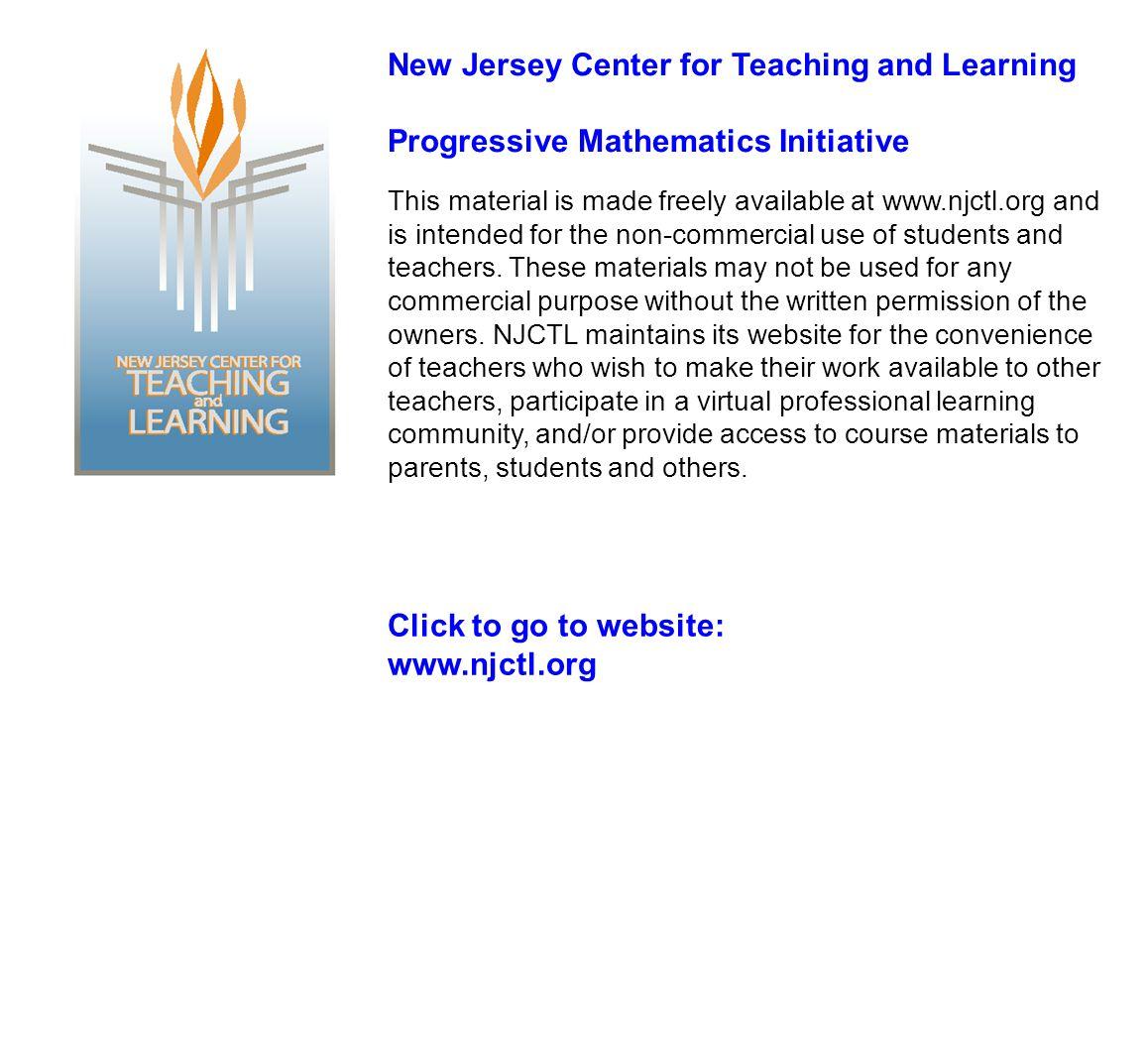 7th Grade Math Ratios & Proportions www.njctl.org 2012-08-08