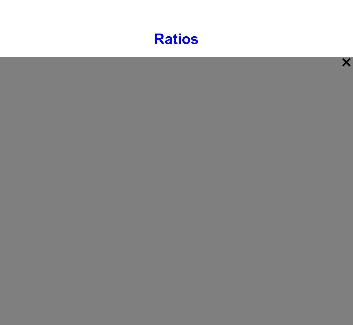 Ratio - A comparison of two numbers by division Ratios can be written three different ways: a to b a : b a b Each is read,