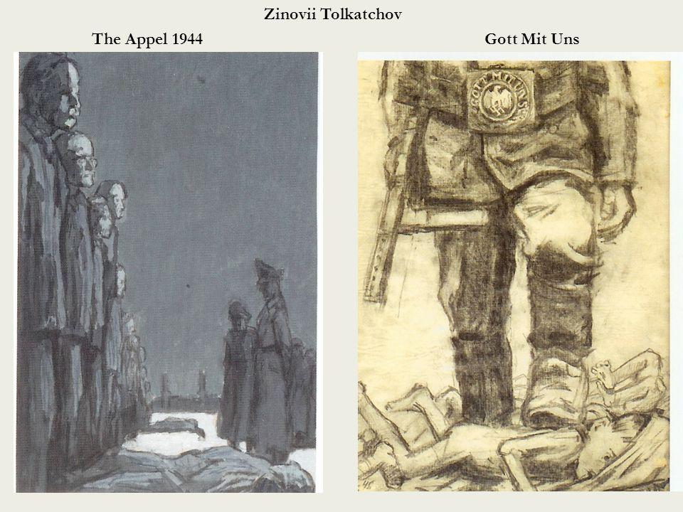 Zinovii Tolkatchov The Appel 1944Gott Mit Uns