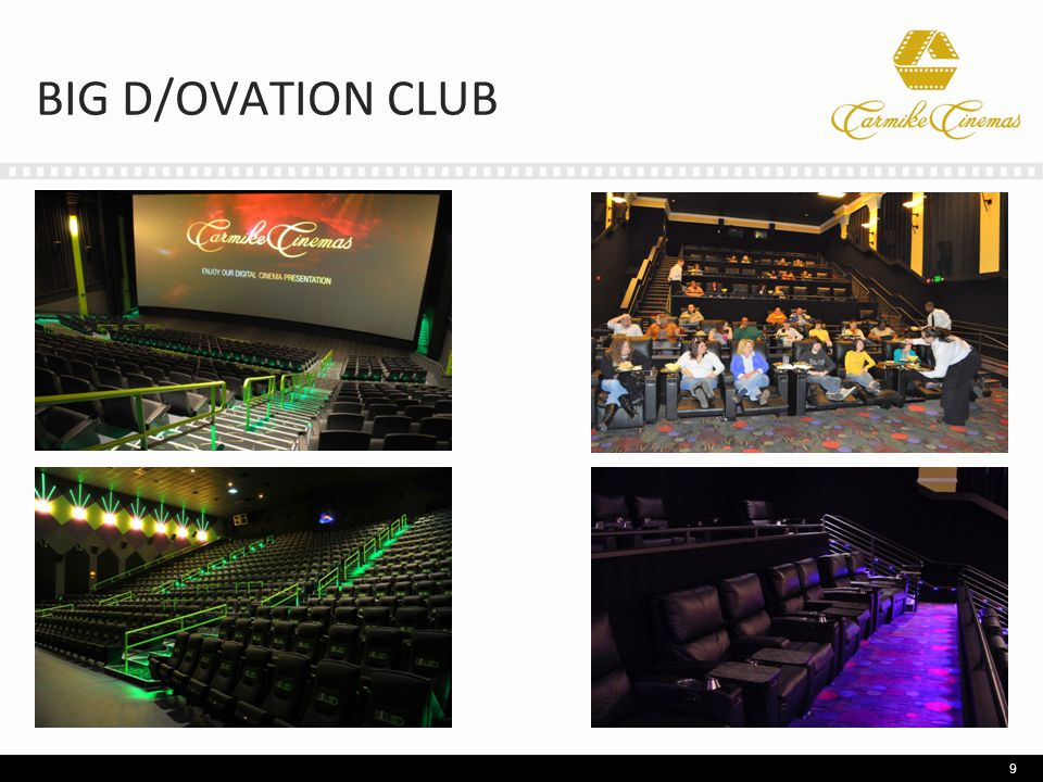 BIG D/OVATION CLUB 9