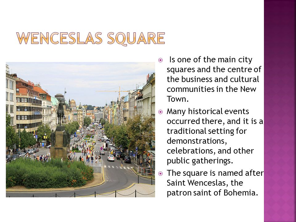  Is one of the main city squares and the centre of the business and cultural communities in the New Town.