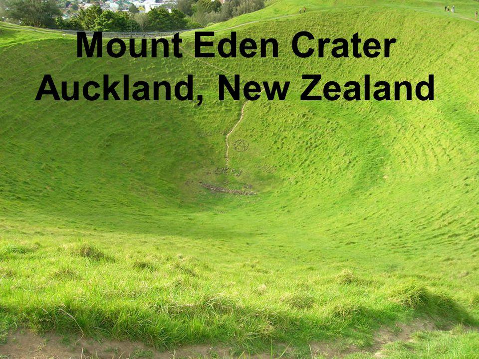 Mount Eden Crater Auckland, New Zealand