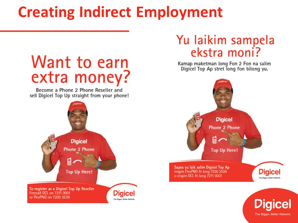 Creating Indirect Employment