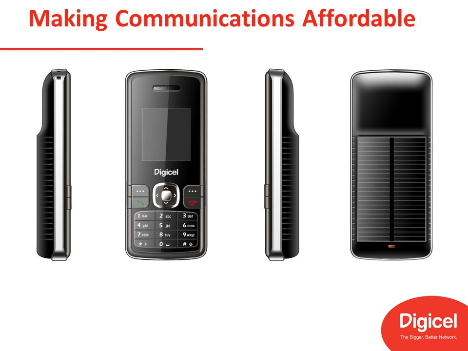 Making Communications Affordable