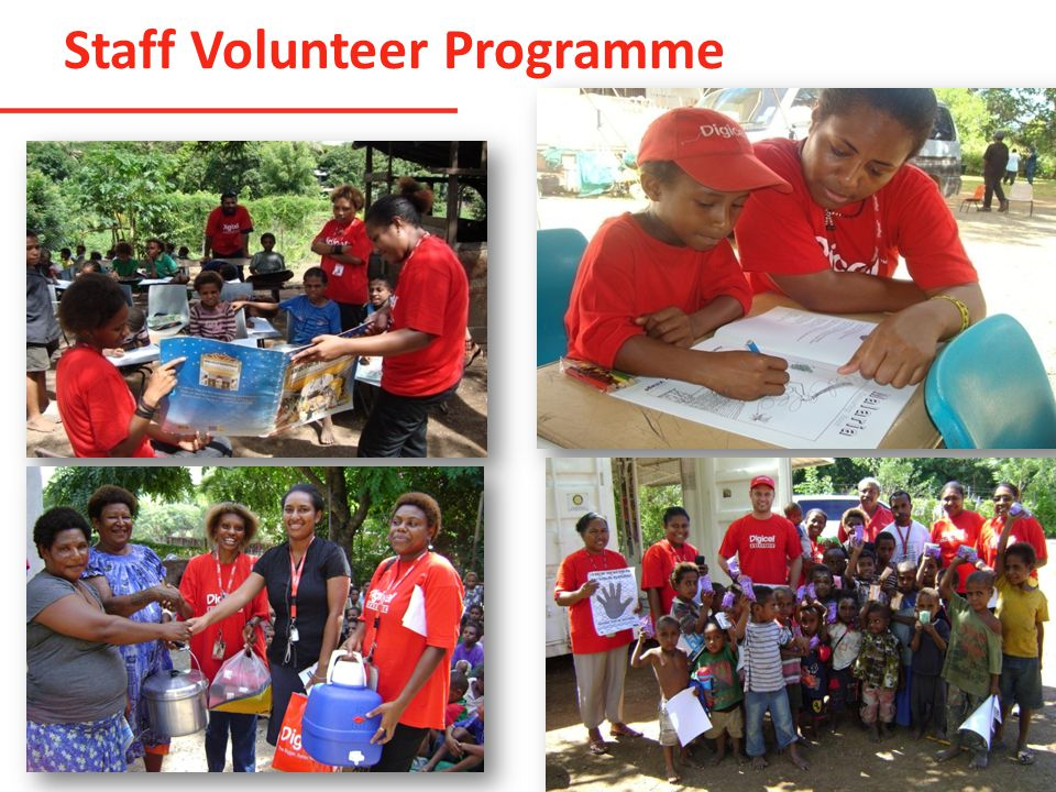 Staff Volunteer Programme