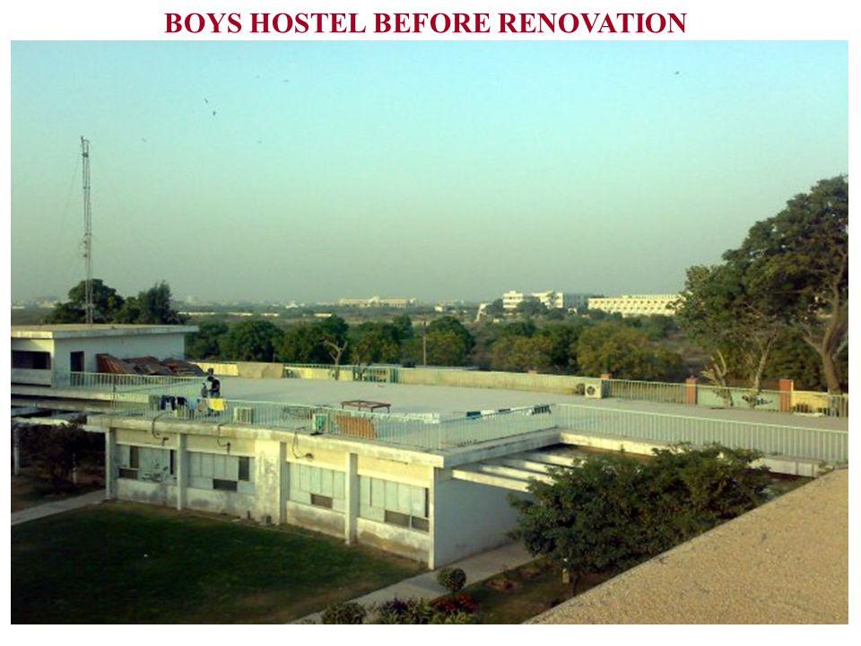 30 BOYS HOSTEL BEFORE RENOVATION