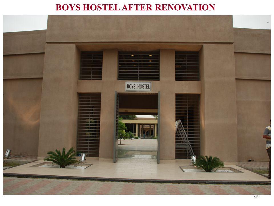 31 BOYS HOSTEL AFTER RENOVATION