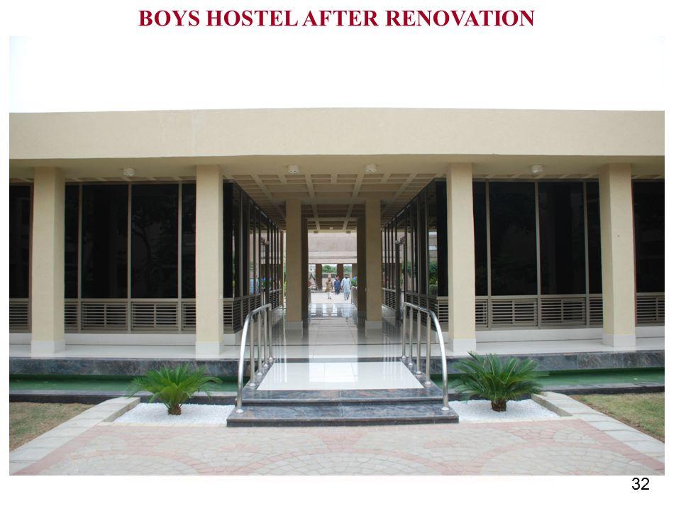 32 BOYS HOSTEL AFTER RENOVATION