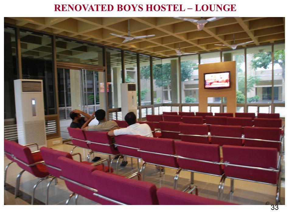 33 RENOVATED BOYS HOSTEL – LOUNGE