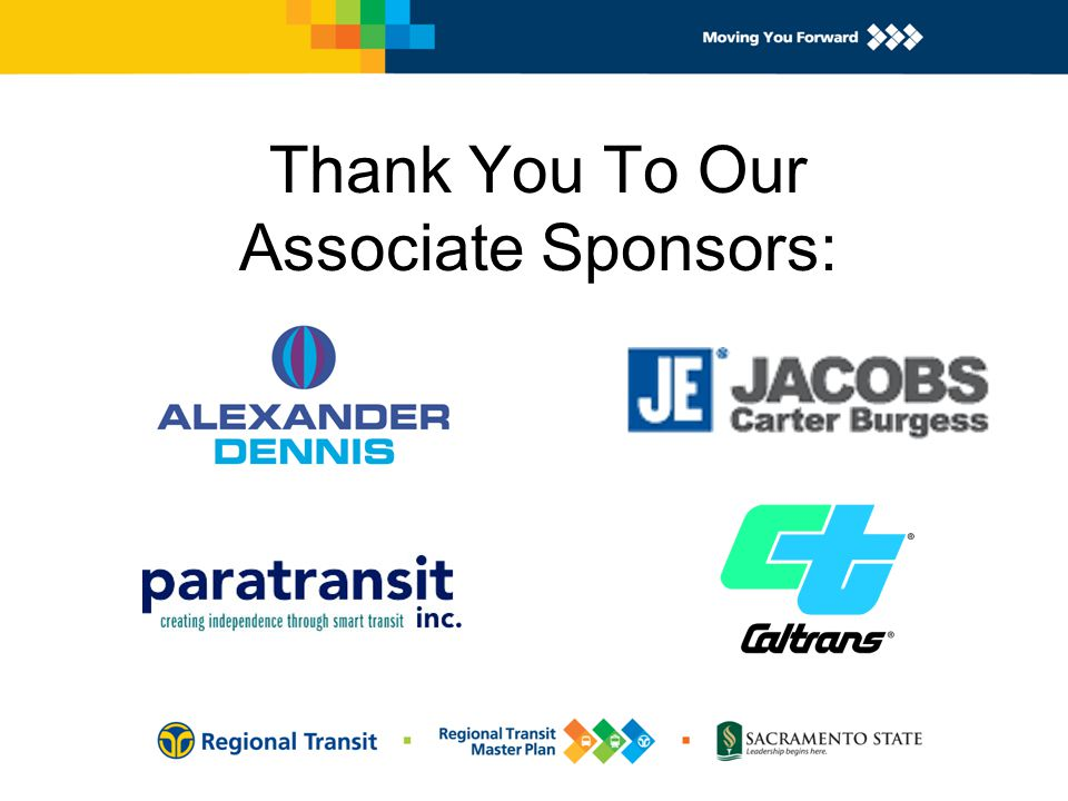 Thank You To Our Associate Sponsors: