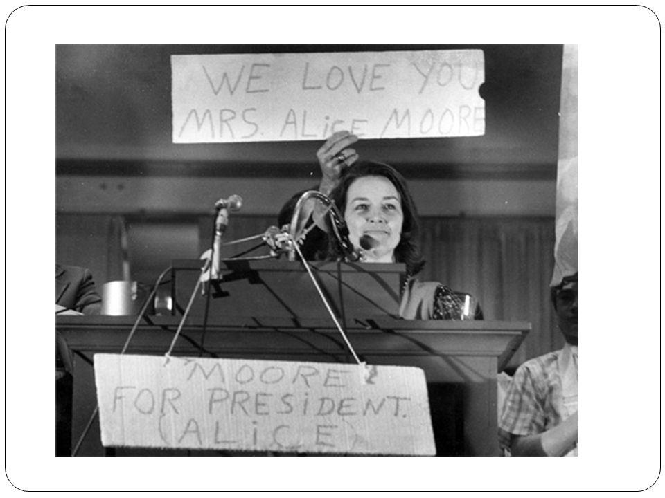 Kanawha County school board member Alice Moore s 1976 campaign flyer