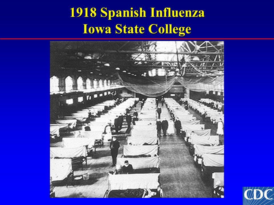 1918 Spanish Influenza Iowa State College