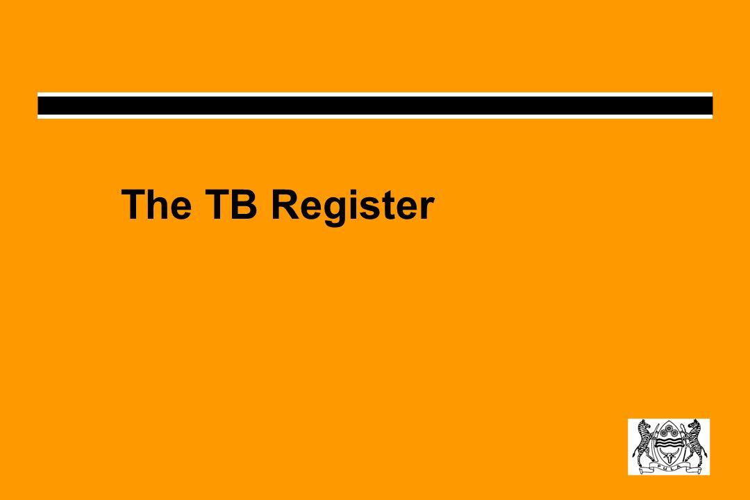 The TB Register