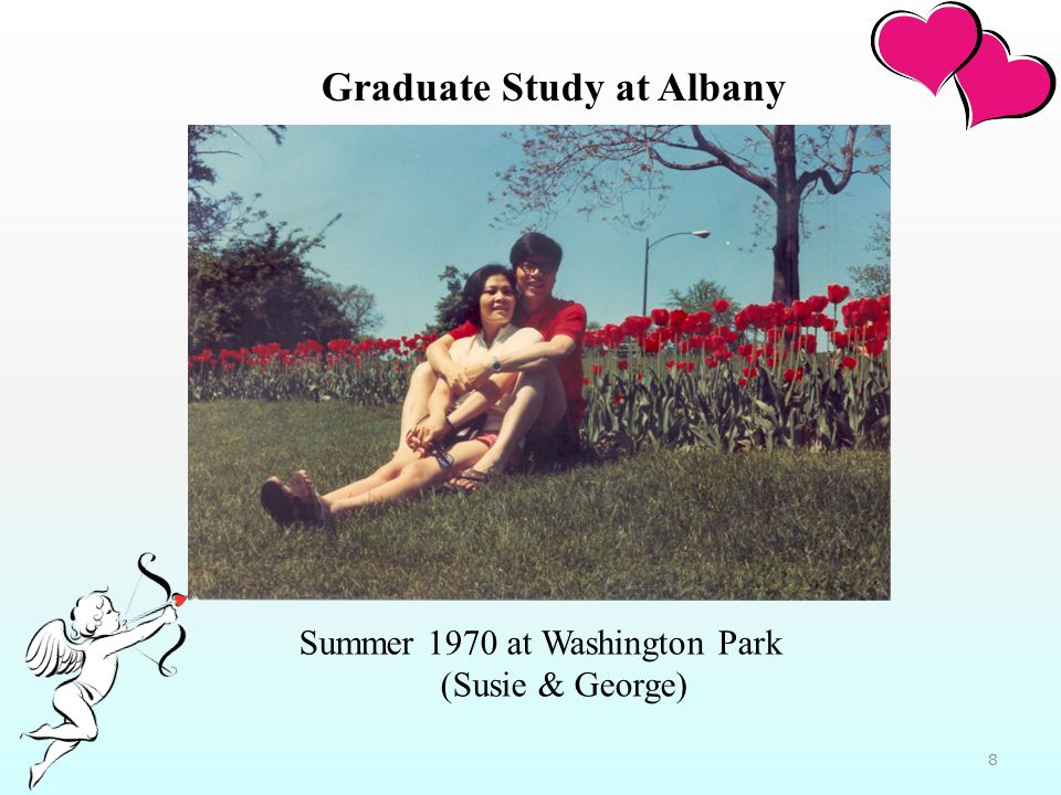 Summer 1970 at Washington Park (Susie & George) Graduate Study at Albany 8