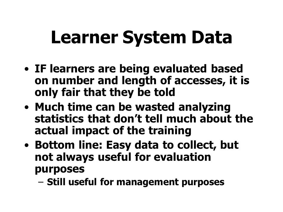 Computer Log Data Chen, G. D., Liu, C. C., Liu, B. J. (2000). Discovering decision knowledge from Web log portfolio for managing classroom processes b