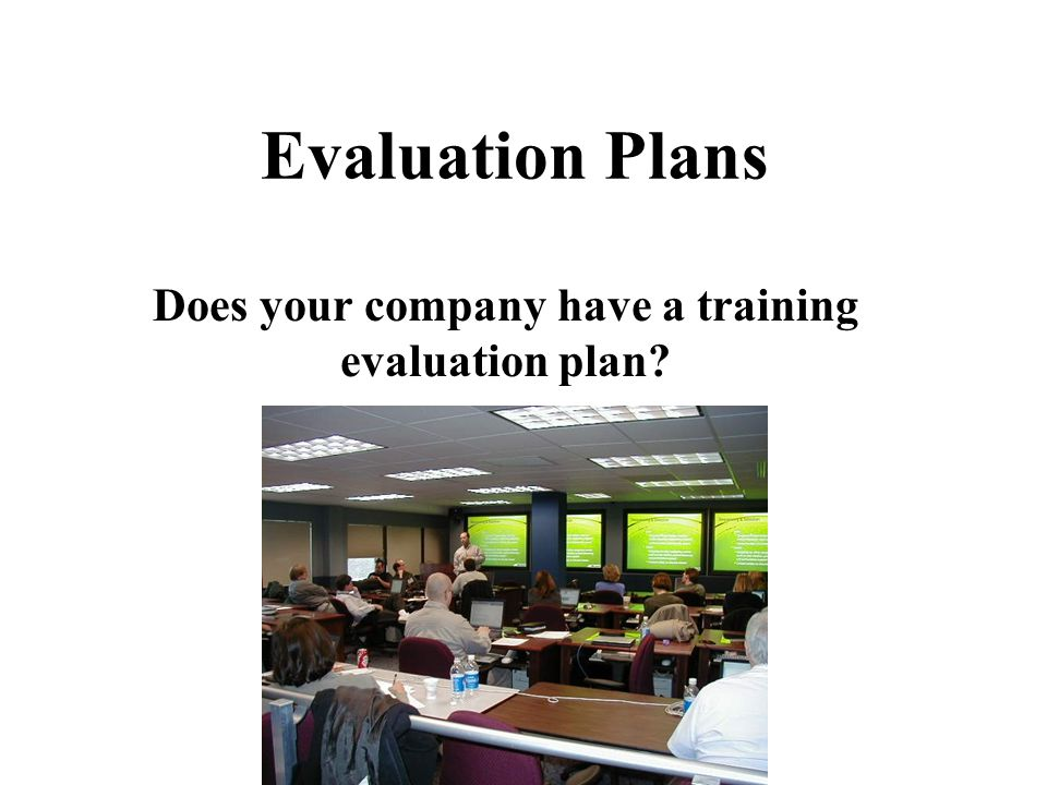 "Evaluation Purposes ""An evaluation plan can evaluate the delivery of e-learning, identify ways to improve the online delivery of it, and justify the i"