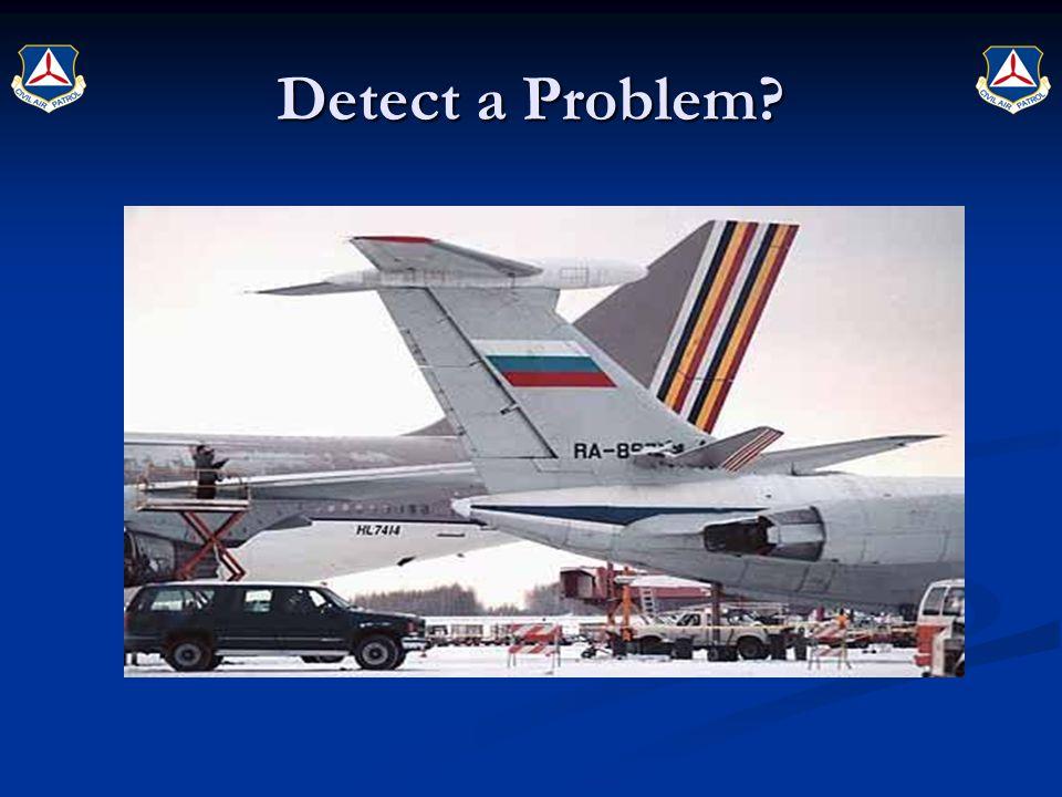 Detect a Problem