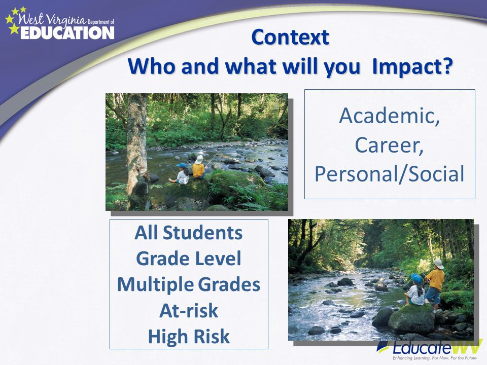 Context Who and what will you Impact.