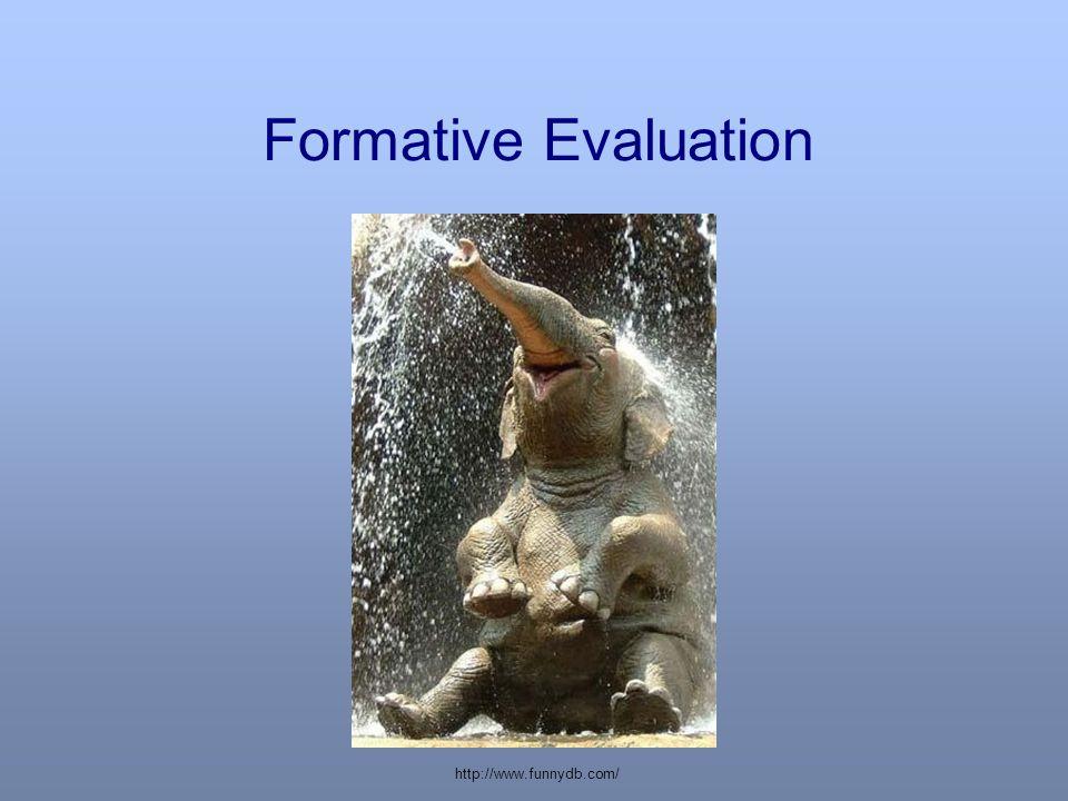Formative Evaluation http://www.funnydb.com/