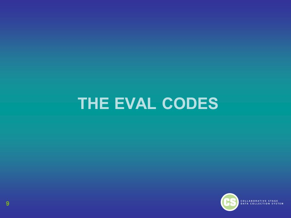 99 THE EVAL CODES 9