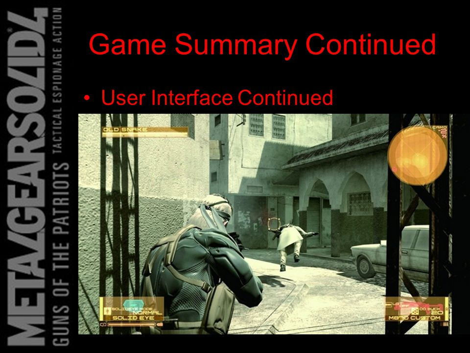 Game Summary Continued Manual – The manual is actually very helpful and gives instructions in the form of a short comic Bugs – No found bugs yet