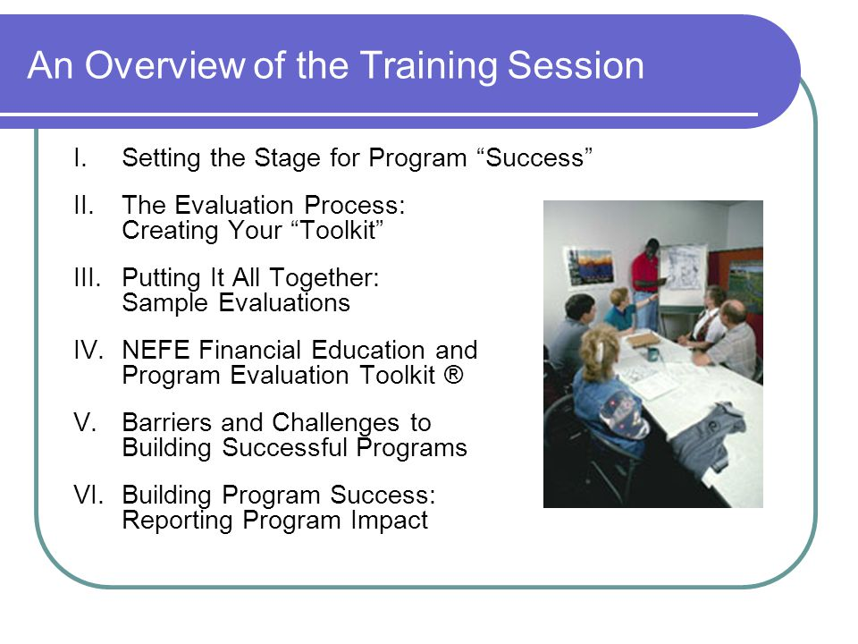 Part III: The Evaluation Planning Process