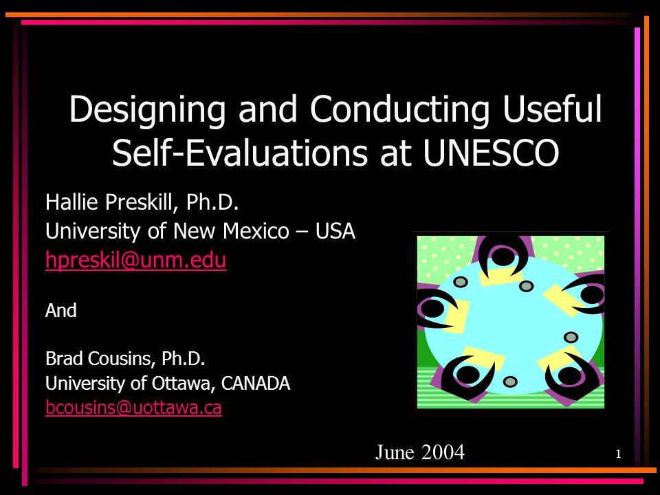 32 How Can We Maximize the Usefulness and Impact of Our Self-Evaluations.
