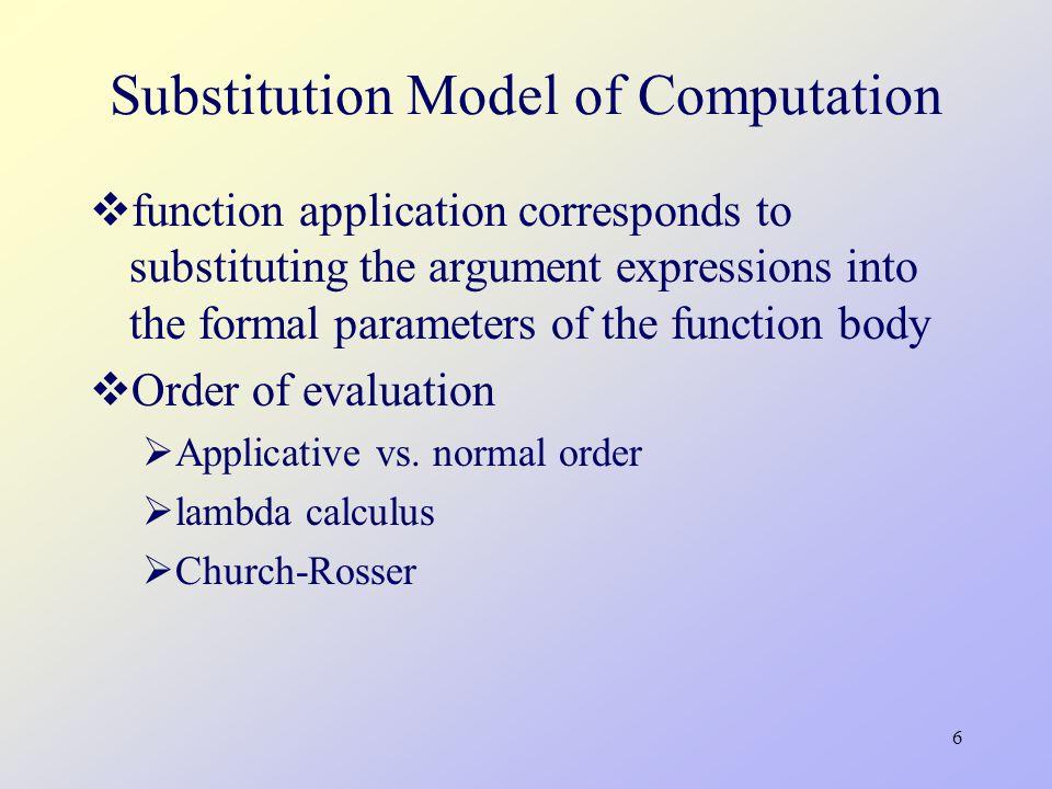27 Representing Thunks (define (actual-value exp env) (force-it (eval exp env))) (define (force-it obj) (if (thunk.