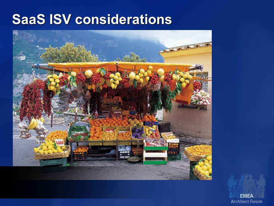 EMEA SaaS ISV considerations