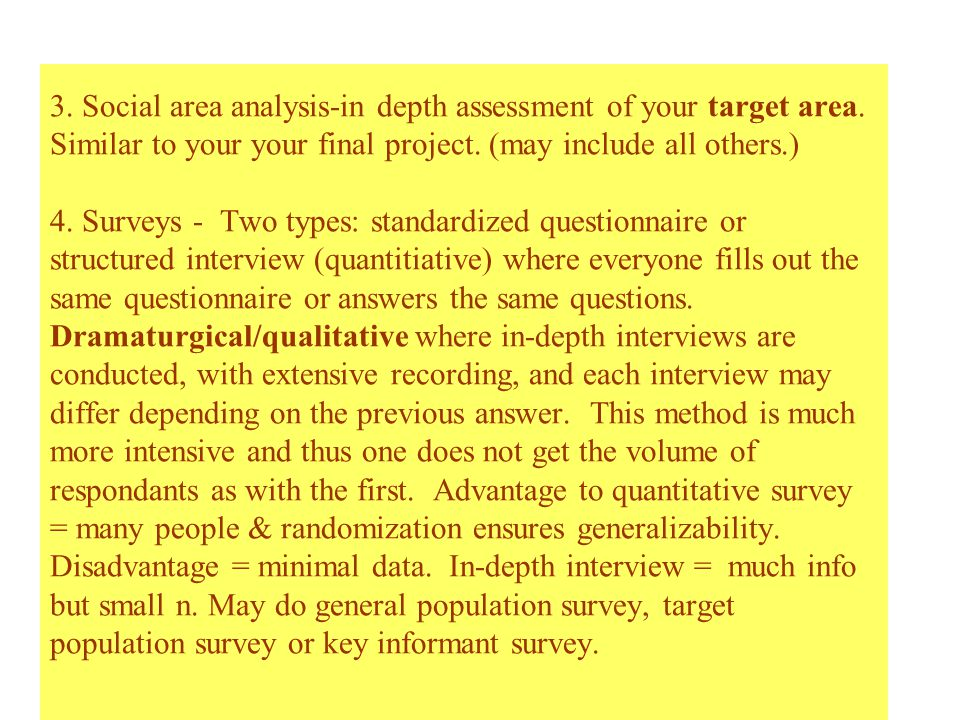5.key informants - identifying people in the know .