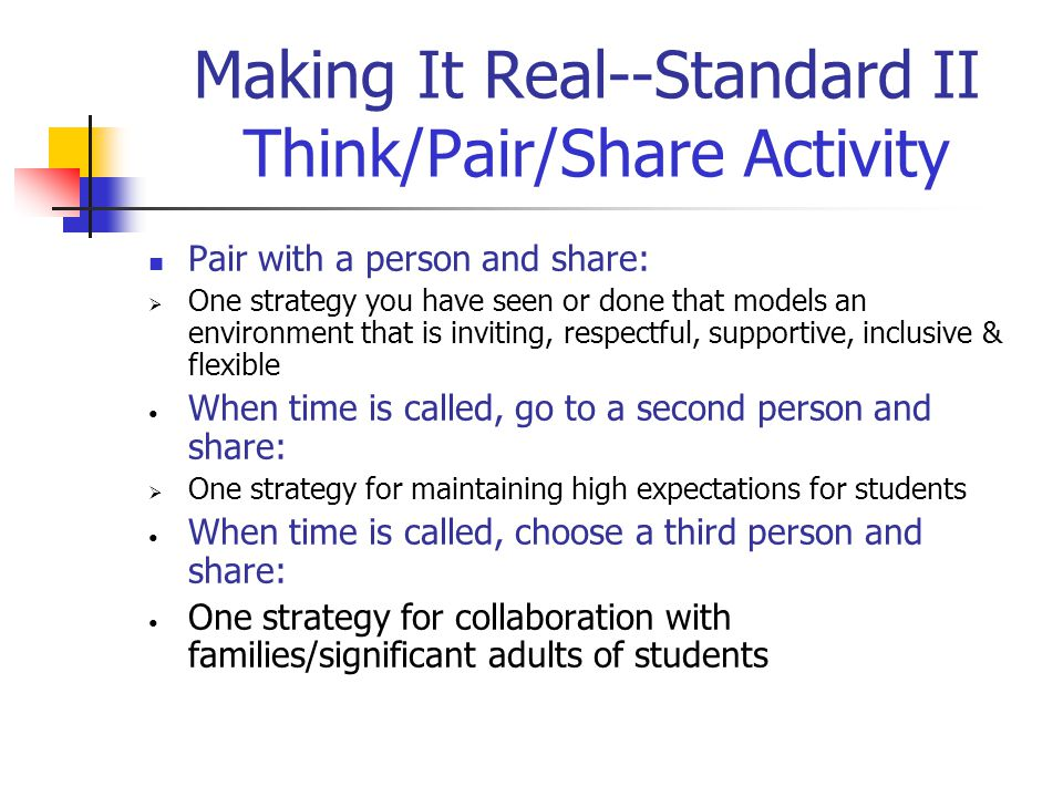 Making it Real Activity--Standard II What is a working definition of Diverse Learners?  Discuss with your table group  Write one definition per tabl